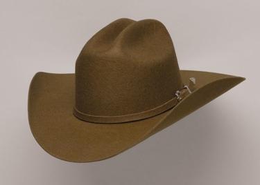 BROWN WOOL FELT HAT