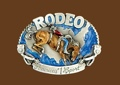 Rodeo Americas #1 Sport Belt Buckle 3 x 2-1/4