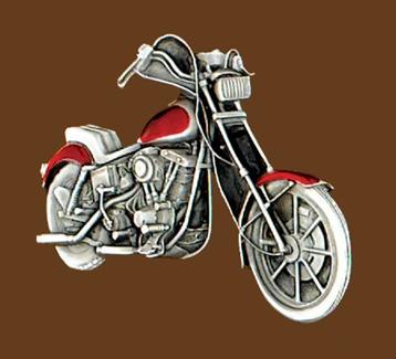 Motorcycle Belt Buckle 3-1/2 x 2-1/4