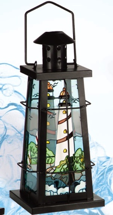 10 Inch Nautical Candle Holder
