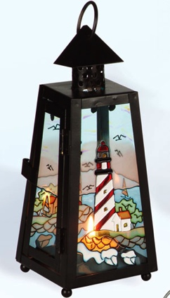 8 Inch Nautical Candle Holder