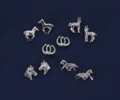 Post Earrings/Horses/Assorted/SILVER