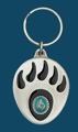 Grizzly Paw Key Ring Turquoise