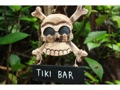 Tiki Bar Skull And Bones Sign Cross Bones Decor