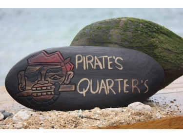 Pirate'S Quarters Pirate Sign Surf Pirate Decor