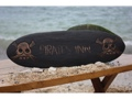 Pirates Inn Skull And Bones Sign Surf Cross Bones Decor