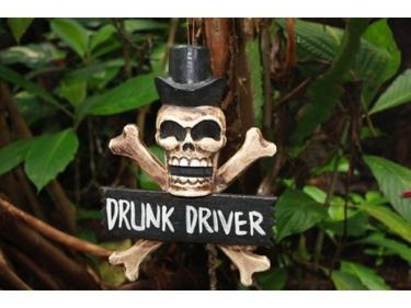 Drunk Driver Skull And Bones Sign 12 Cross Bones Decor