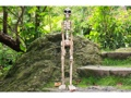 Skeleton Statue 40 Crossbones Halloween Decor