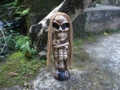 Skeleton Statue 16 Crossbones Halloween Decor