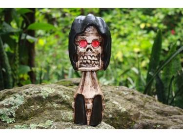 Crossbones Bowling Pin 16 Skull Bones Decor