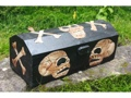Large Treasure Chest Box 20 Skull Bones Decor
