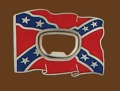 Rebel Flag opener Belt Buckle 3 x 2