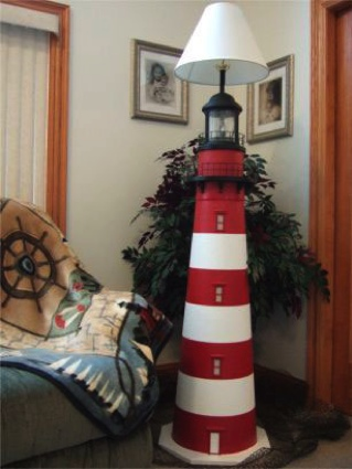 Standard Body Floor Lamp Lighthouse Decor