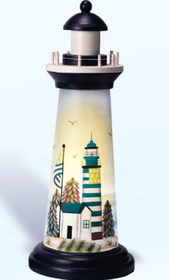 18 Inch Night Light Picture Lighthouse Decor