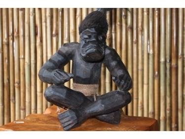 Primitive Sumo Tiki 12 Tribal Tiki Decor
