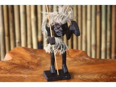 Crazy Tiki Warrior Chief 7 Primitive Tiki Decor