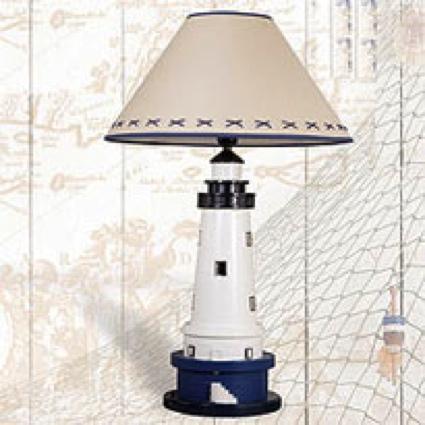 27 Inch Lamp Nautical Decor