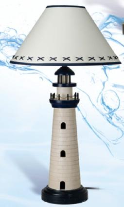 29 Inch Lamp Nautical Decor