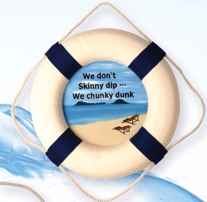 13 Inch Chunky Dunk Nautical Life Ring