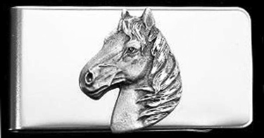 Horse Head Money Clip