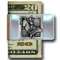 Bullrider Money Clip