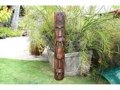 Fijian Tiki Mask W 2 Deities 40 Evil Hunter Polynesian Art