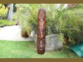 Fijian Tiki Mask W Turtle Nifo Oti 40 Hawaiian Decor