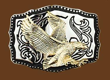 Eagle Belt Buckle 3-3/4 x 2-3/4