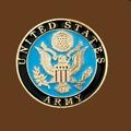 United States Army Belt Buckle Round 2-3/4 x 2-3/4