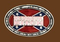 REDNECK BITCH Belt Buckle 3-3/4 x 2-1/2