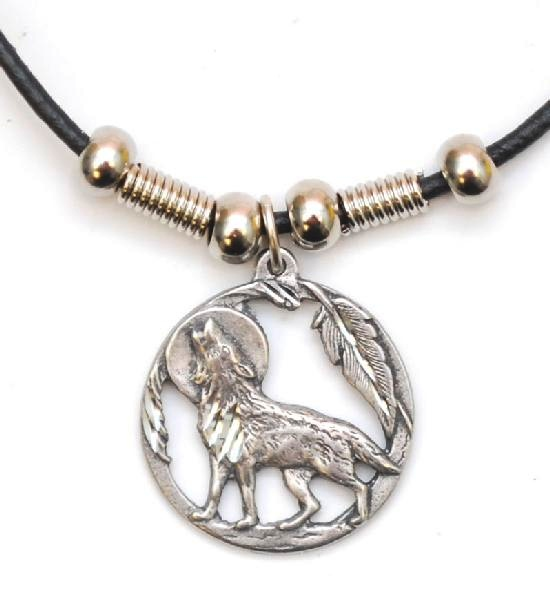howling wolf necklace necklaces n 231 from eastwave