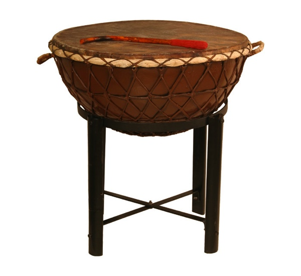 banjira nagada drum 24 inch with stand tasha kettledrum ngda24 sd from. Black Bedroom Furniture Sets. Home Design Ideas