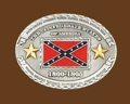 Confederate States 1860-1865 Belt Buckle 4 x 3 (NOT ME-25)