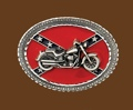 Buckle/Confederate/Motor Cycle