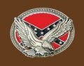 Buckle/Confederate/Spread Eagle/Oval