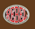 REBEL Belt Buckle 3-7/8 x 3