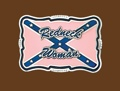 Redneck Woman (pink/blue) Belt Buckle 3-1/2 x 2-1/4