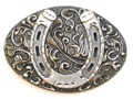 Horseshoe Buckle 3 1/2 x 2 1/2