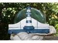 Lighthouse Hanger 12 White Blue Nautical Decor