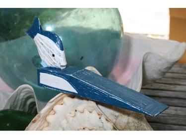 Fish Door Stopper 4 Blue Nautical Decor
