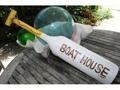 Boat House Paddle 32 Yellow Nautical Wall Decor