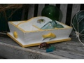 Divider Tray 6 Sections 16 Yellow Nautical Decor