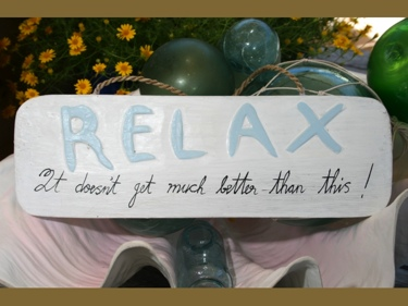 Relax It Just Doesn'T Get Better Than This Beach Sign 14 Coastal Decor