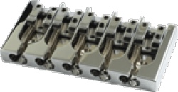 Bridge Hipshot Type A 5 String .708 Brass Chrome