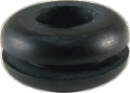 Grommet Rubber Diameter 9 32 Inch for Chassis Diameter 3 8 Inch pkg of 5