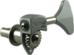 Key Hipshot Ultra Lite Tuner  InchY Inch Key 3 8 Inch Chrome Bass Side