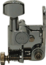 Key Hipshot GT2 Guitar Xtender Key Chrome Schaller Style