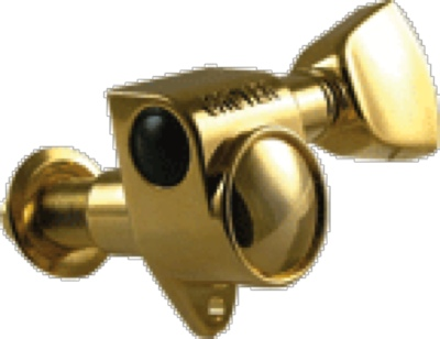 Tuner Machine Head Gibson Modern Gold Metal Buttons , Gibson