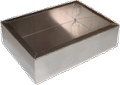 Chassis Box Hammond Aluminum 7 Inch x 5 Inch x 2 Inch