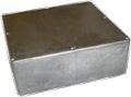 Box Hammond Unpainted Aluminum 7.38 Inch x 7.38 Inch x 2.48 Inch Depth